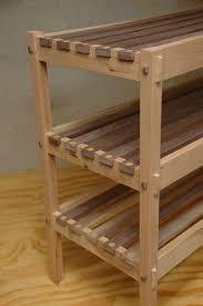 interior shoe cabinet plans com perfect wooden rack 10 wooden shoe rack plans