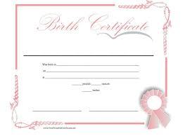 How To Make A Birth Certificate Create A Birth Certificate Rome Fontanacountryinn Com