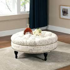 exotic ottoman coffee table with storage round ottoman coffee table coffee tables round ottoman coffee table leather tufted storage living coffee storage