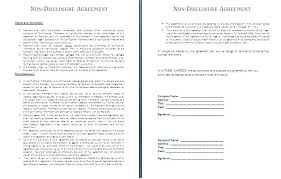Intellectual Property Nda Template Mutual Non Disclosure Agreement Template Intellectual Property