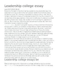 College Application Essay Examples Common App Essays Co