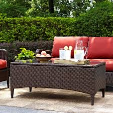 Patio Furniture 3 Piece Set  Wicker Table And ArmchairsThree Piece Outdoor Furniture