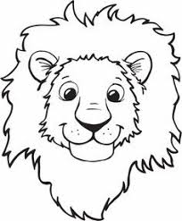lion face drawing for kids. Modren Face Head For Lion Drawing Kid At Getdrawingscom Free Personal Use Easy  Kids 236 286 How To Draw With Face B