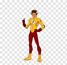 Wally West Flash Aqualad Robin - Greg Weisman Transparent PNG