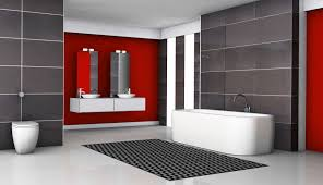 Dark Red Bathroom Red And Black Bathroom Simple Round Shower Pale White Curtain