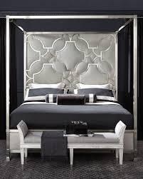 neiman marcus bedroom furniture. zoe stainless king canopy bed neiman marcus bedroom furniture d