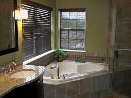 Bathroom With Corner Tub And Shower 2015 13 On Corner Tub & Shower,  Porcelain Tiles