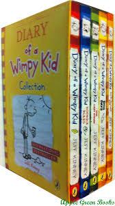 diary of a wimpy kid plete 5 book set diary of a wimpy kid rodrick rules the last straw dog d jeff kinney 9780545271929 amazon books