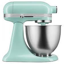 ice blue kitchenaid mixer. KitchenAid Artisan Mini 3.5 Quart Tilt-Head Stand Mixer - KSM3311X, Ice Blue Kitchenaid