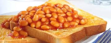 Image result for Baked beans on toast