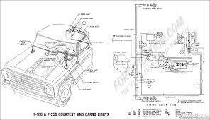 ford truck technical drawings and schematics section h wiring 1969 f 100 f 250 courtesy and cargo lights