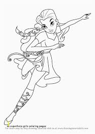 Superhero Girl Coloring Pages Zabelyesayancom