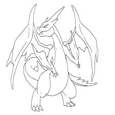 Pokemon Charizard Coloring Pages All Coloring Pages Free Printable
