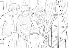 Coloring Pages Harry Potter For And The Chamber Of Secrets Ravenclaw