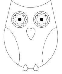 Color It Owl Owls Uil Kleurplaten Uil Sjablonen En Uil Knutsels