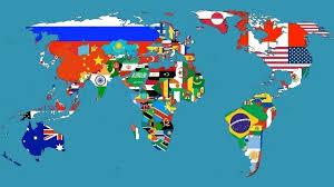 Awesome World Map Desktop Background Wallpaper