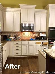 kitchen countertop painting ideas kitchen makeover in linen milk paint home ideas ph home appliances ideas