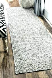 black braided rug oval jute rugs