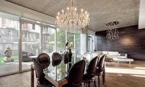 modern contemporary crystal chandeliers amazing small chandelier for dining room amiable chrome i nyc can put decor top impressive lighting whole