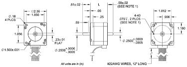 y high torque stepper motor dimensions wiring diagram torque curves specifications stepper motors 24y dimension