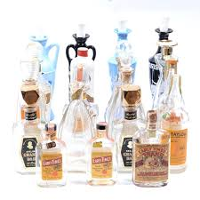 vintage whiskey decanters and bottles decanter crystal