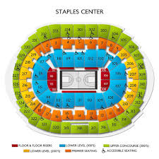 Staples Center Seating Chart For Ufc Clippers Vs Lakers Tickets For 3 8 20 Staples Center