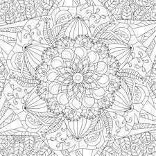 Mandala Kleurplaten Voor Volwassenen