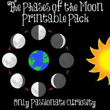 Phases Of The Moon Chart For Kids Free Moon Phases Printables And Lesson Moon Phases Moon