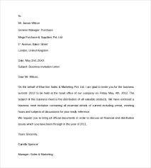 Formal Business Invitation Wording 14 Business Invitation Letter Templates Pdf Word