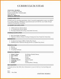 Resume Format For Diploma In Civil Engineering Inspirational Cv In
