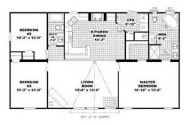 Bedroom Ranch House Plans   Long Ranch Style House Plans          Bedroom Ranch House Plans   Ranch House Plans Open Floor Plan