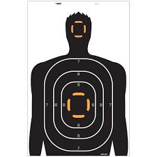allen ez aim human silhouette target pack of 4