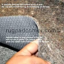 natural rubber and felt rug pad rug pads safe for od floors are rubber felt and natural rubber and felt rug pad