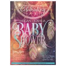 Dream Catcher Baby Shower Invitations Bohemian Dreams Dreamcatcher Baby Shower Invitations 82