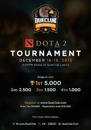 dota 2 tournament 18 19 12 2015 que club