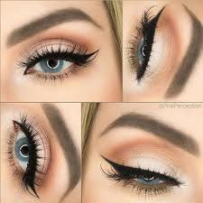 beautiful makeup for blue eyes