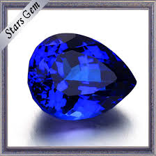 Tanzanite Color Chart Popular Special Tanzanite Color Pear Cubic Zirconia For Jewelry