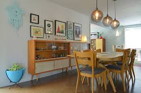 modern dining room storage. Midcentury Hutches Placed Next To One Another Double Up The Dining Room Storage Space [ Modern