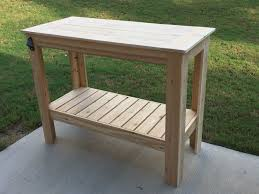 ana white build a grilling table free and easy diy project inside bbq tables outdoor furniture