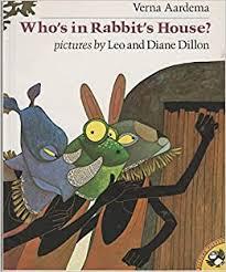 Amazon | Who's in Rabbit's House? | Aardema, Verna, Dillon, Diane |  Children's Books