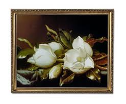 white magnolia flower floral contemporary wall picture gold framed art print on white magnolia wall art with amazon white magnolia flower floral contemporary wall picture