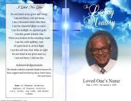 Luxury Free Obituary Program Template Download Free Funeral Program