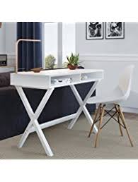 home office small desk. Nathan Home 51002 Kalos Office Computer Desk Or Makeup Vanity Table, For Small Spaces E