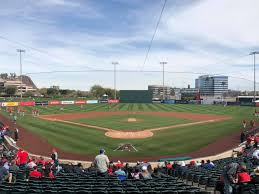 Tempe Diablo Stadium Seating Chart Tempe Diablo Stadium Los Angeles Angels Spring Training