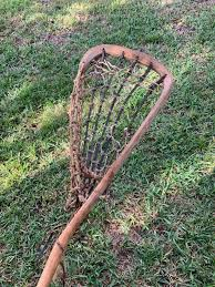 old wooden patterson 5 leather wooden stick