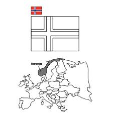 Landen En Vlaggen Kleurplaten Leuk Voor Kids