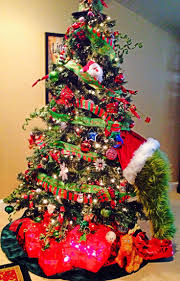 Best Grinchstmas Tree Images On Pinterest Decorating Ideas Stole Outdoor  Decorations For Office Make