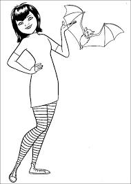 Hotel Transsilvanien Ausmalbilder Malvorlagen Zeichnung Druckbare