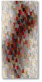 1028 best Art quilts images on Pinterest | Jellyroll quilts, Eye ... & Liz Kuny, contemporary quilt artist Wanda says look at this, letter A  repeated, very clever colour play Adamdwight.com