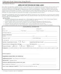 Application For Leave Form Custom Leave Application Form For Employee Astounding Simple Format Slip
